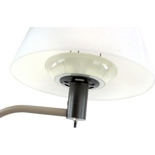 Lightolier Beige & Black Floor Lamp - Image 4 of 5