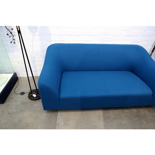 """A somewhat rare sofa designed by Eric Jourdan for Ligne Roset, circa 2005. It is called the """"Snowdonia"""" line. Re done in a..."""