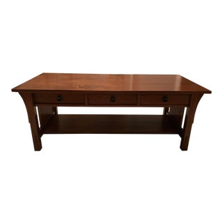 Stickley Arts n Crafts Cocktail Table For Sale