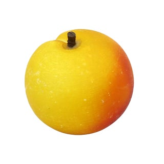 Mid-Century Italian Alabaster Peach For Sale