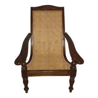 Plantation Cane Seat Chair