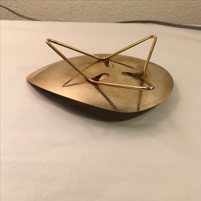 Atomic Brass-Plate Candleholder - Image 7 of 7