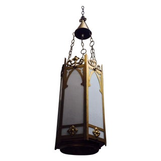 Gothic Cathedral Style Chandelier For Sale