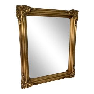 1920s Gilt Framed Mirror For Sale