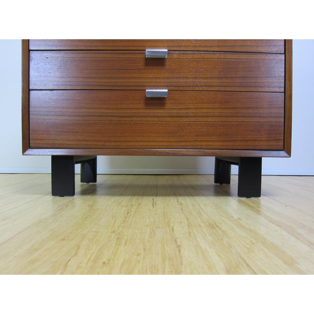 1950s 1950s George Nelson for Herman Miller Walnut Dresser For Sale - Image 5 of 13