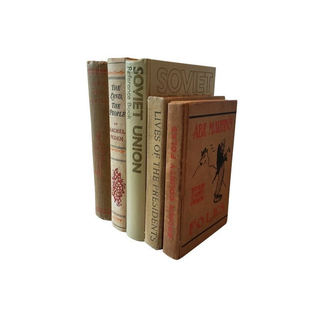 Decorative Vintage Books - Set of 5 - Image 3 of 4