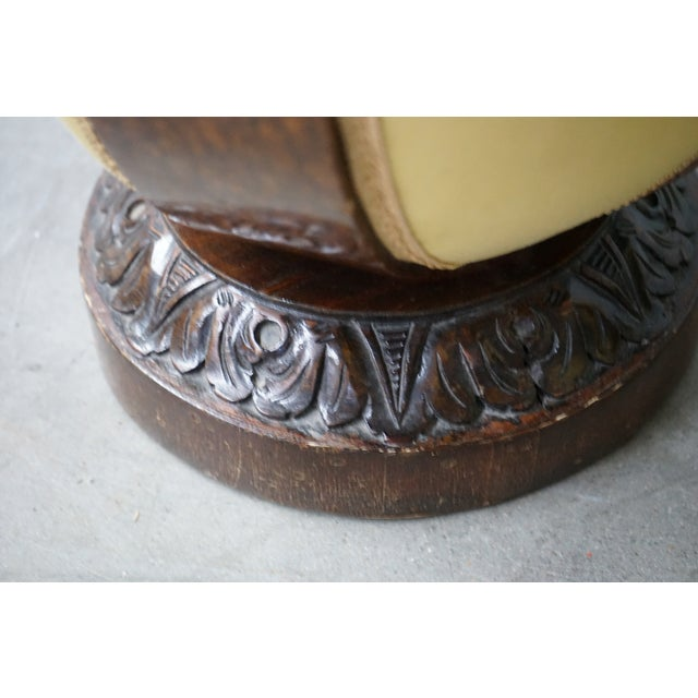 Antique Ottoman, Sold as a Pair For Sale In Nashville - Image 6 of 9