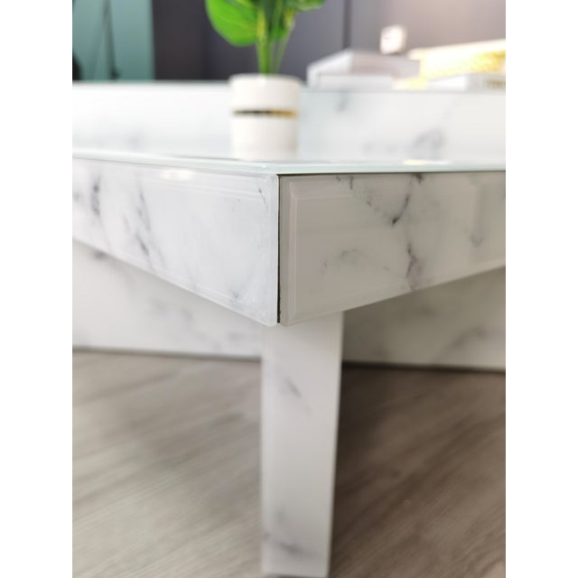Grace Modern Coffee Table - a Pair For Sale In Los Angeles - Image 6 of 8