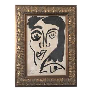 "Peter Keil ""Picasso Face"" Contemporary Painting For Sale"