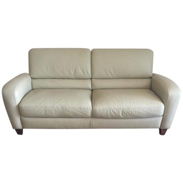 Italsofa Leather Sofa - Image 1 of 3