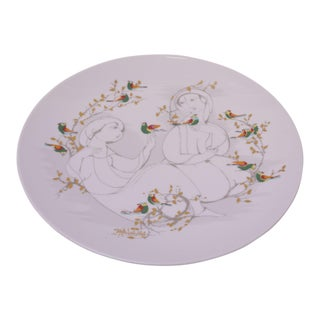 Bjørn Wiinblad for Rosenthal Studio Line Decorative Plate For Sale