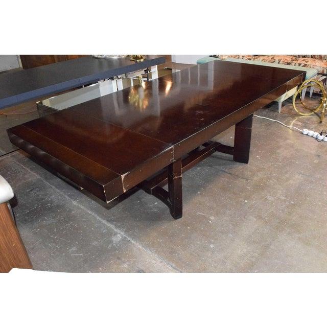 1950s Robsjohn-Gibbings for Widdicomb Dining Table For Sale - Image 5 of 8