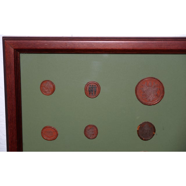 Fine Collection of 19th Century Wax Seals For Sale - Image 4 of 12