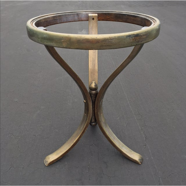 Early Americana Thonet Accent Table - Image 2 of 6
