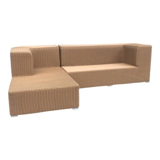 Outdoor Shadow Sofa Chaise For Sale