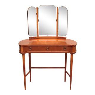 1940s Danish Vanity Table For Sale