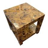 Image of Kravet Andrews Shell Side Table For Sale