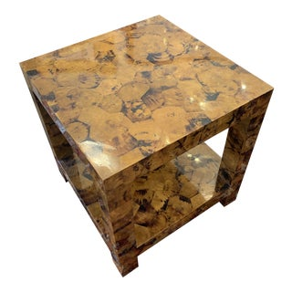 Kravet Andrews Shell Side Table For Sale