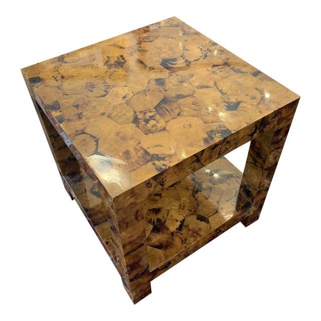 Kravet Andrews Shell Side Table For Sale