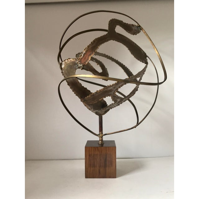 Harry Bertoia Midcentury Modern Brutalist Sculpture For Sale - Image 4 of 7