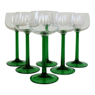 French Luminarc Stemware, Set of 6 For Sale