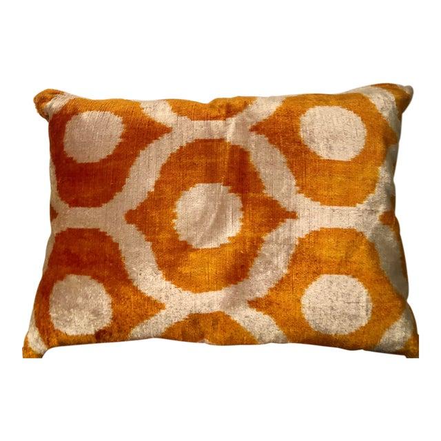 Turkish Silk Velvet Pillow For Sale