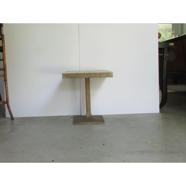 Very solid and somewhat heavy. Looks good in any setting be it contemporary or traditional.