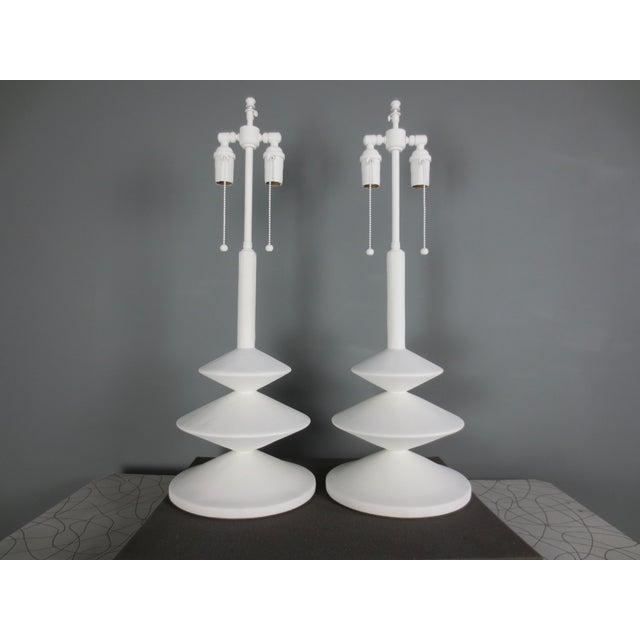 Plaster Jmf Lamp For Sale In New York - Image 6 of 10