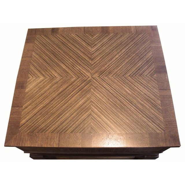 New Mid-Century Style End Table With Drawer - Image 5 of 6