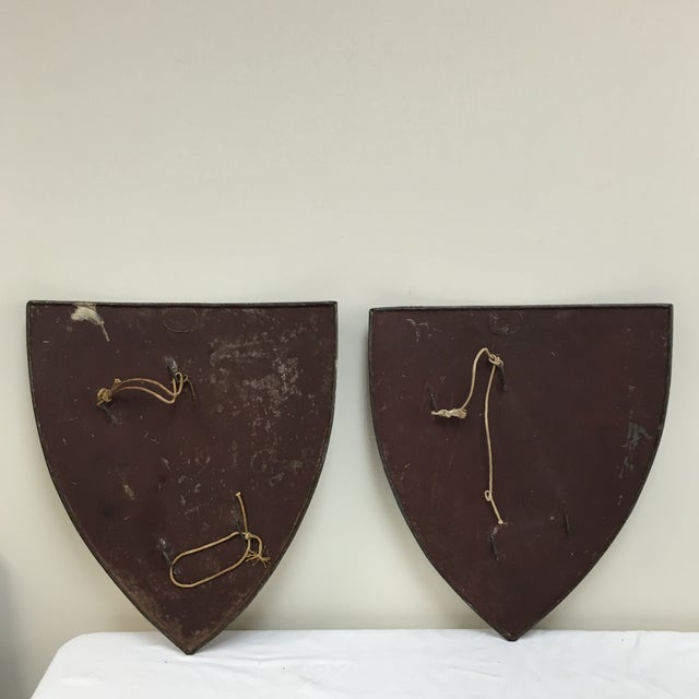 19th Century English Shields - A Pair - Image 5 of 10
