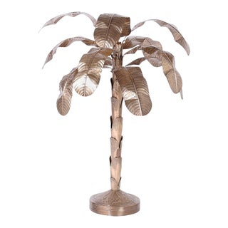 Brass Palm Tree Sculpture For Sale