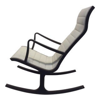 Mitsumasa Sugasawa for Tendo Mokko Mid-Century Modern Heron Rocking Chair