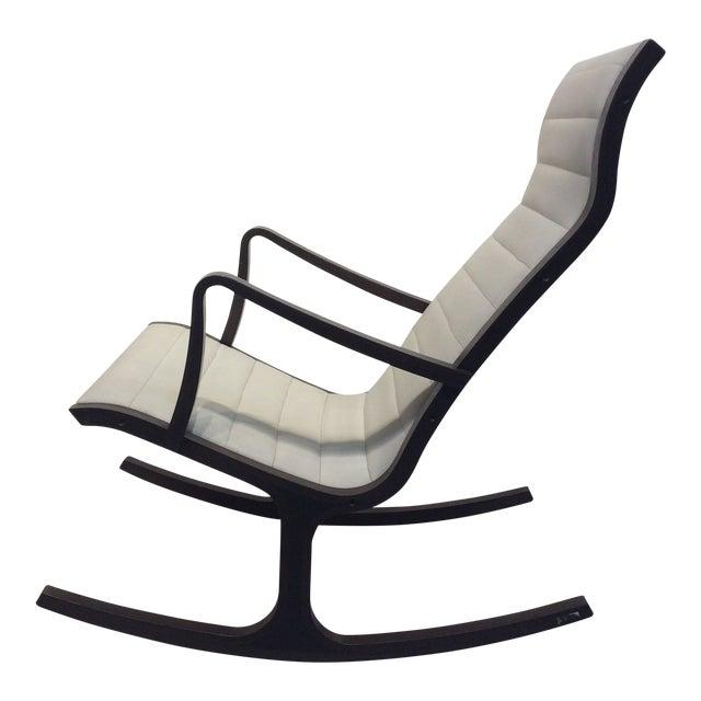 Mitsumasa Sugasawa for Tendo Mokko Mid-Century Modern Heron Rocking Chair For Sale