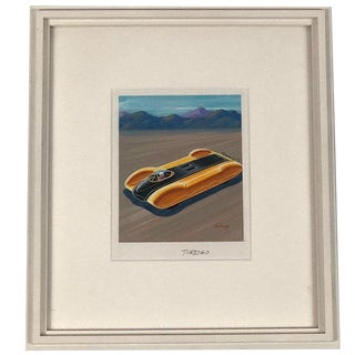 Futuristic Car Drawing For Sale