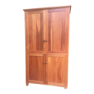Shaker Cherry Media Cabinet For Sale