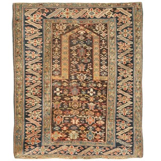 Antique Mid-19th Century Caucasian Chi Chi Rug
