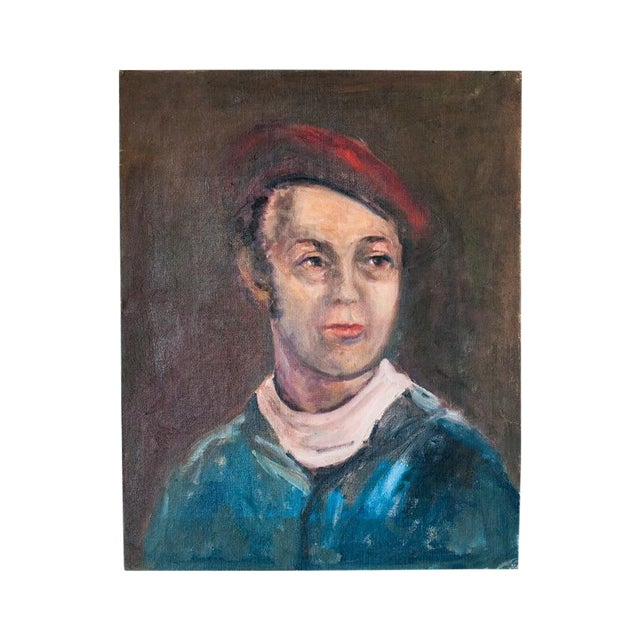 Vintage Gent Sailor Oil Painting on Board - Image 1 of 4