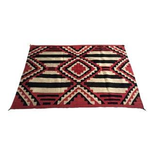 Antique Navajo Chief Blanket For Sale