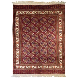 "Yomud Turkoman Rug- 8' X 10'10"" For Sale"
