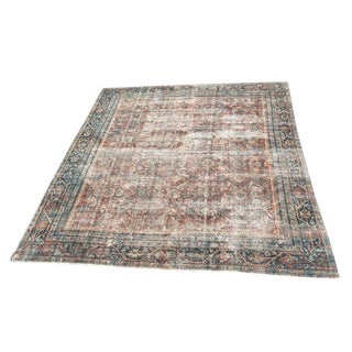 Early 20th Century Antique Mahal Persian Rug - 9′10″ × 12′5″ For Sale