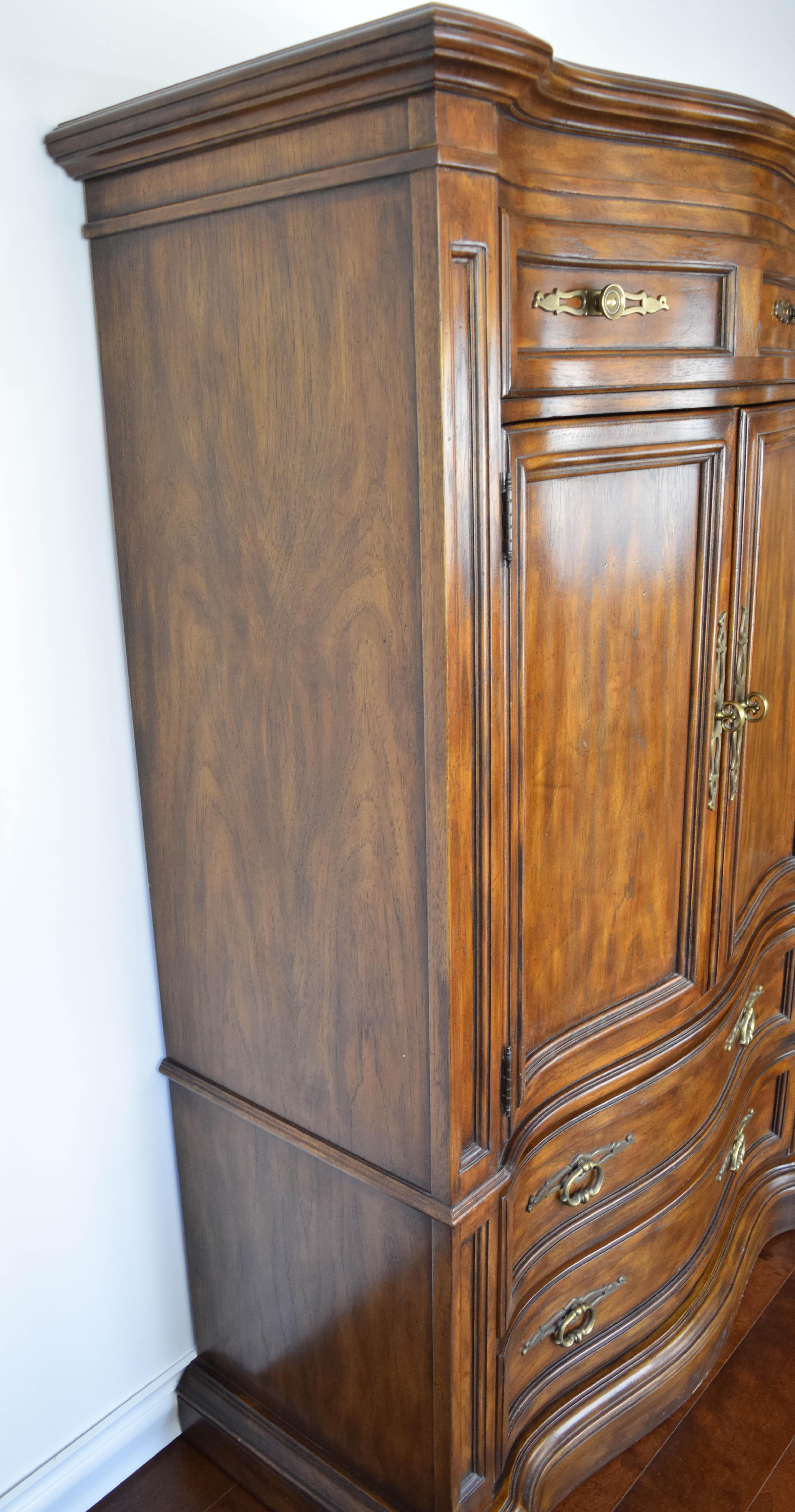 Drexel Heritage Grand Villa French Regency Armoire   Image 3 Of 11