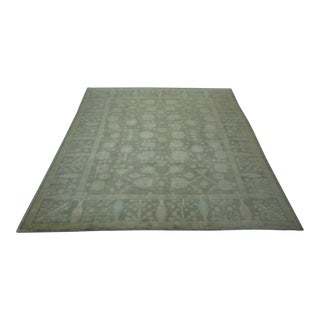 Turkish Anatolian Modern & Decorative Oushak Rug - 8′2″ × 9′4″
