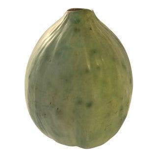 1991 Patricia Garrett Studio Pottery Gourd Vase