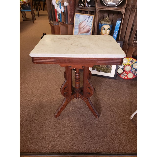 Victorian, Antique Eastlake Style Table For Sale - Image 11 of 11
