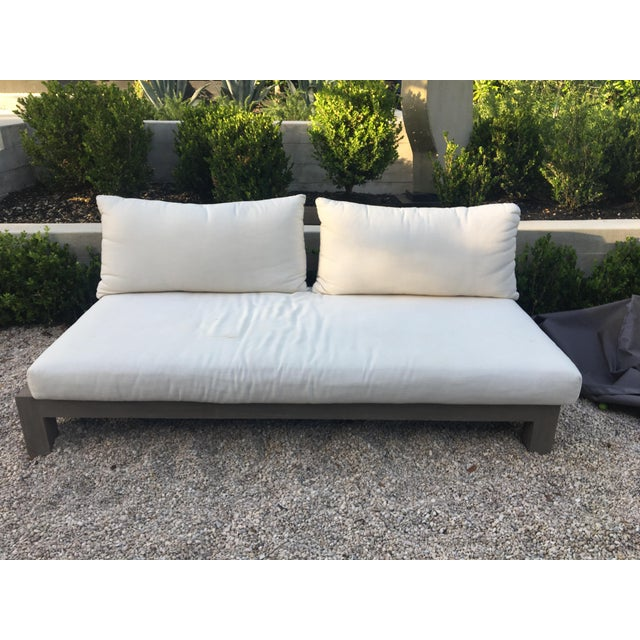 This sofa was designed and manufactured by Xavier Van Lil in Antwerp, Belgium. Purchased in Sept. 2016, making it less...