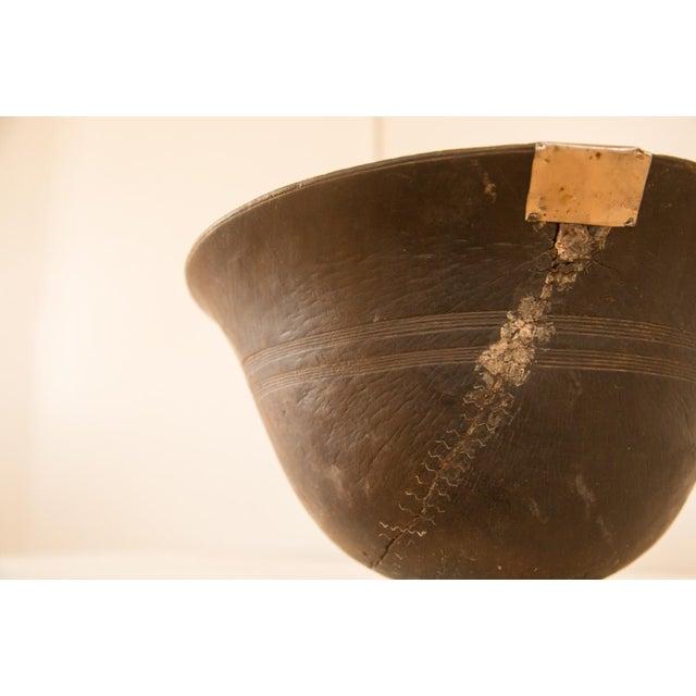 Vintage Wooden African Bowl - Image 6 of 10