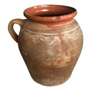 Antique Mid 20th Century European Ceramic Vase For Sale