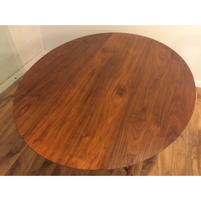 Henredon Heritage Henredon Drop Leaf Dining Table For Sale - Image 4 of 10