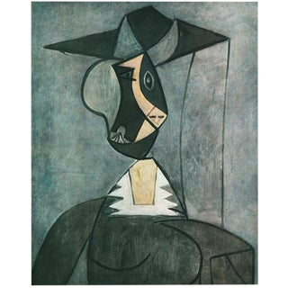 "1943 Picasso, Original ""Woman in a Hat"" Lithograph For Sale"