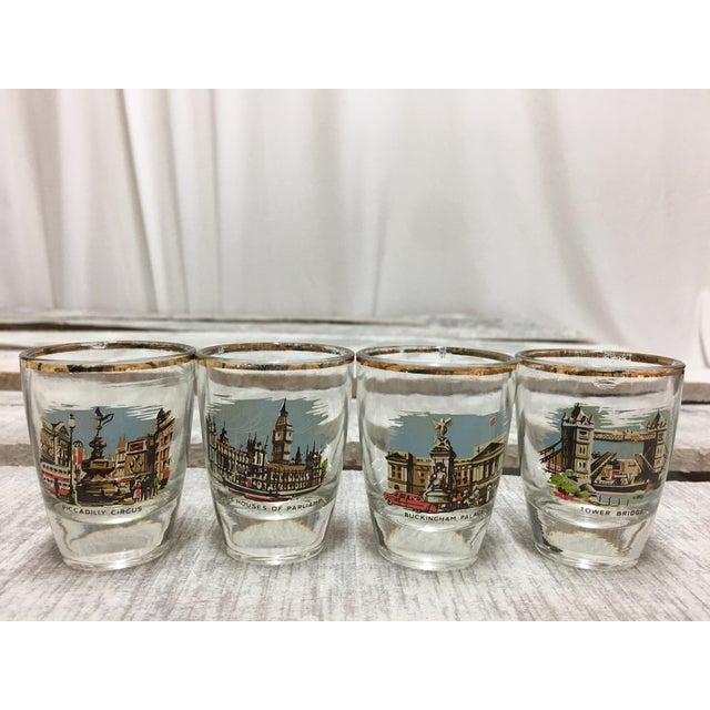 Mid-Century London Shot Glasses - Set of 4 - Image 8 of 8